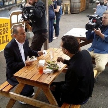 Jerry Seinfeld and Fred Armisen