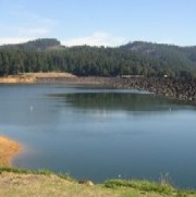 <p>&quot;Hagg Lake near dam.&quot; Licensed under Public domain via Wikimedia Commons - [<a href=