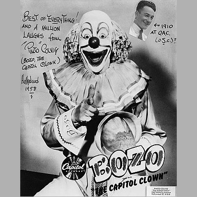 Biography Of Pinto Colvig The Original Bozo The